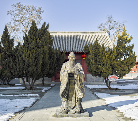 China, Hebei Province, Shijiazhuang City, Zhengding County, Temple of Literature