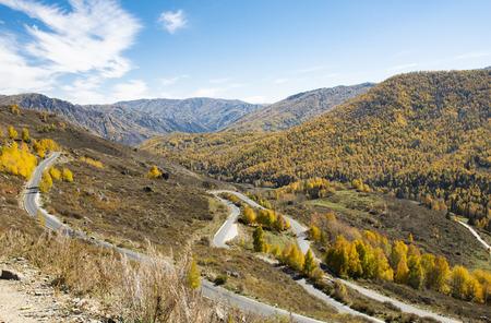 China, Xinjiang, Altay region, Burqin scenery