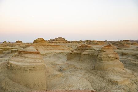 China, Xinjiang, Karamay, Devil City Yadan landform