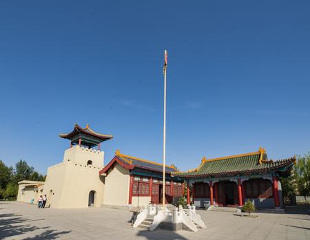 Hami Wangfu in Hami City, Xinjiang, China.
