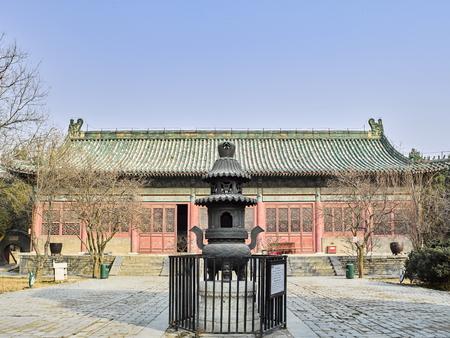 China, Henan Province, Anyang City, Yuan Lin Stock Photo - 124021269