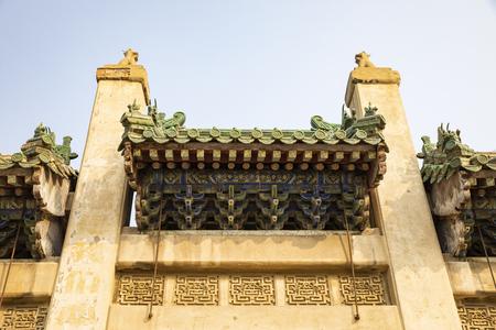 China, Henan Province, Anyang City, Yuan Lin Memorial Arch Stock Photo - 124495754