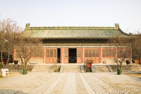 China, Henan Province, Anyang City, Yuan Lin Jing Rentang