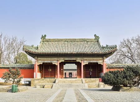 China, Henan Province, Anyang City, Yuan Lin Sanjinmen Editorial