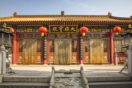 China, Hebei Province, Shijiazhuang City, Pingshan County, Ganquan Temple