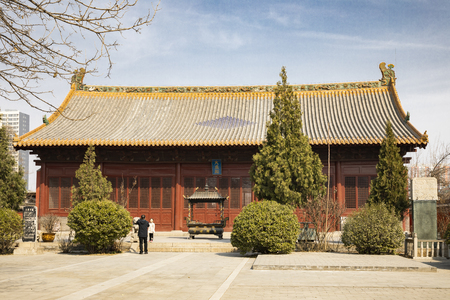 China, Hebei Province, Shijiazhuang City, Pingshan County, Temple of Literature