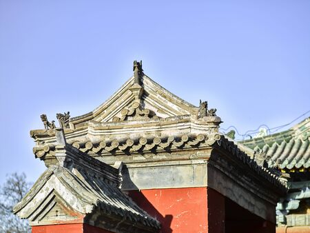 Longxing Temple, Hebei Province, China Imagens