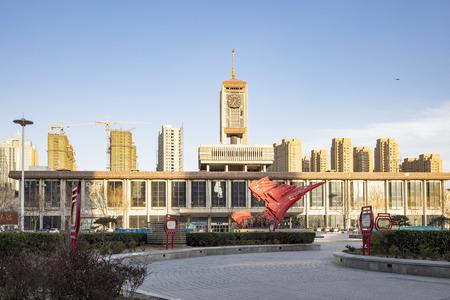China, Shijiazhuang City, Hebei Province, Shijiazhuang Old Railway Station