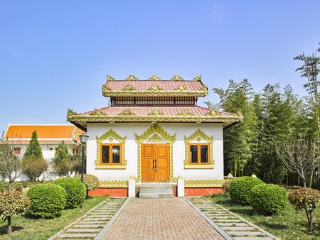 China, Henan Province, Luoyang City, Baima Temple, Thai style Buddhist temple
