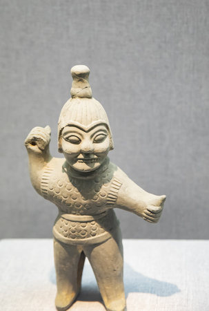 Exhibits item in Luoyang Museum, Henan Province, China.