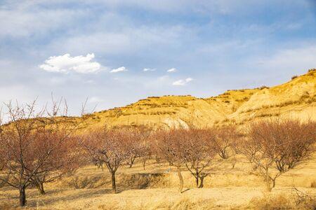 Natural scenery at Yu county in Zhangjiakou City, Hebei Province, China.