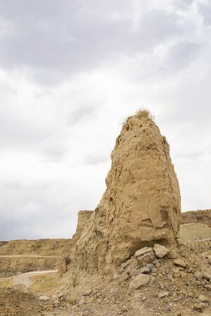 Kaiyang fort in Yangyuan county at Hebei province. Imagens