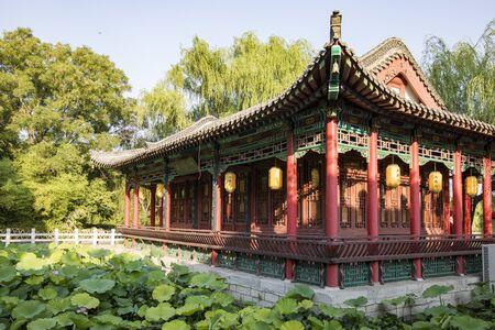 China, Shandong Province, Jinan City, Daming Lake Scenic Area Yuheting