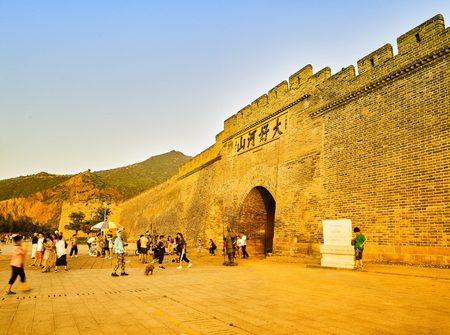 China, Hebei Province, Zhangjiakou City, World Cultural Heritage Dajingmen Great Wall