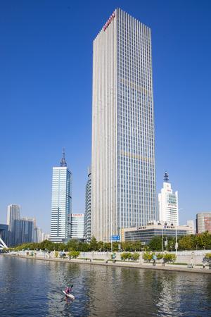 China, Tianjin, urban architecture