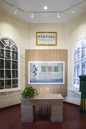 China, Tianjin, Tianjin Post Museum Exhibition Hall