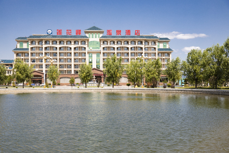 China, Hebei Province, Baoding City, Wuyuan County architectural scenery 新聞圖片