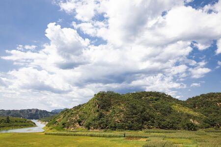 China, Hebei Province, Tangshan City, Qianxi County Natural Scenery 版權商用圖片