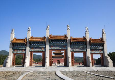 China, Hebei Province, Tangshan City, Zunhua City, Jingling Mausoleum (Qing dynasty)