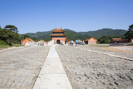 Jingling Mausoleum (Qing dynasty) in Hebei Province, China