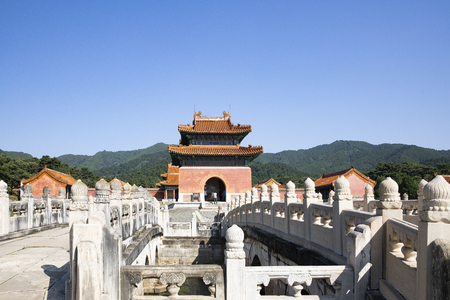 Jingling Mausoleum (Qing dynasty) in Hebei Province, China