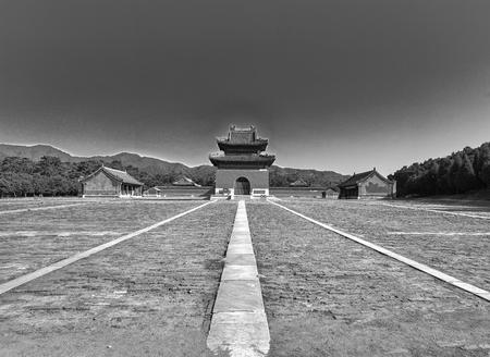 China, Hebei Province, Tangshan City, Zunhua City, Qing Tombs, Jingling 新聞圖片