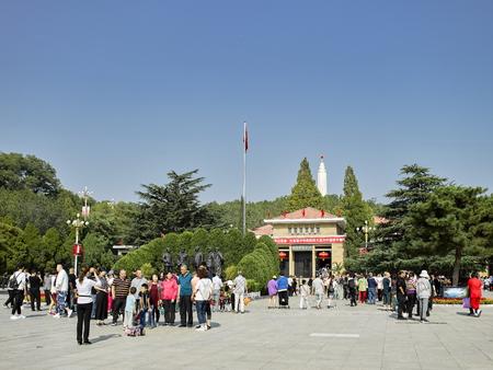 China, Hebei Province, Shijiazhuang City, Pingshan County, Xibaipo memorial hall