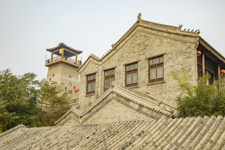China, Shijiazhuang City, Hebei Province, Tumen ancient town Stock Photo - 133075862