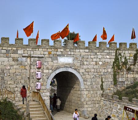 China, Shijiazhuang City, Hebei Province, Tumen ancient town