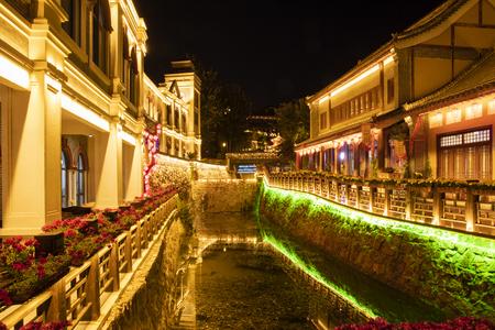 China, Hebei Province, Shijiazhuang City, Western Evergreen Tourist Resort area Stock Photo - 133441098