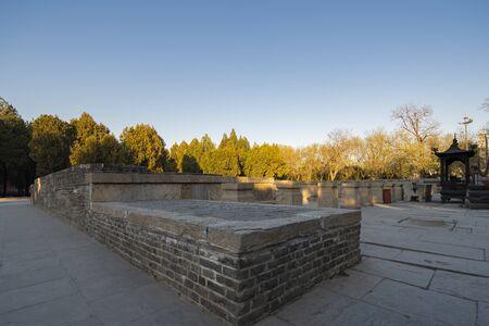 Longxing Temple, Zhengding County, Shijiazhuang City, Hebei Province, China 版權商用圖片