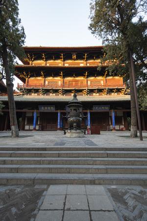 Longxing Temple, Zhengding County, Shijiazhuang City, Hebei Province, China 新聞圖片