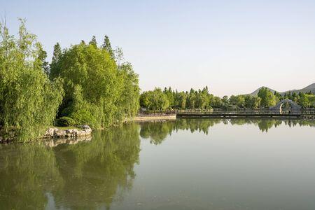 Yunlong Lake Scenic Area, Xuzhou City, Jiangsu Province, China Stock fotó - 150083069