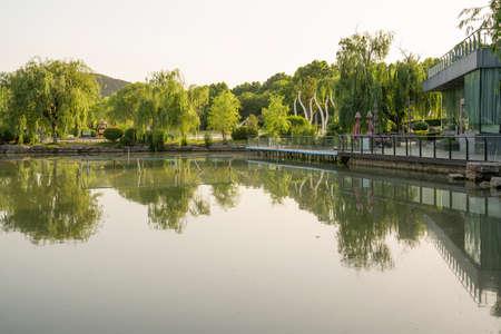 Yunlong Lake Scenic Area, Xuzhou City, Jiangsu Province, China Stock fotó - 150042398