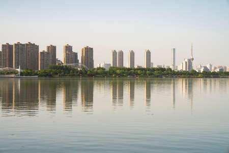 Yunlong Lake Scenic Area, Xuzhou City, Jiangsu Province, China 新聞圖片