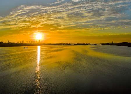 China, Hebei Province, Shijiazhuang City, Zhengding County, Hutuo River Scenery