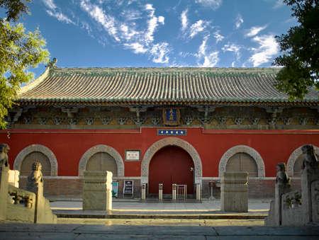China, Hebei Province, Shijiazhuang City, Zhengding County, Longxing Temple architectural scenery Sajtókép