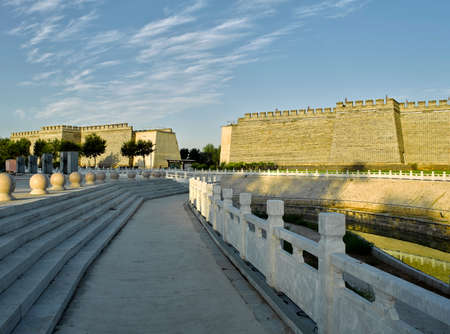 China, Hebei Province, Shijiazhuang City, Zhengding County, Zhengding Ancient City