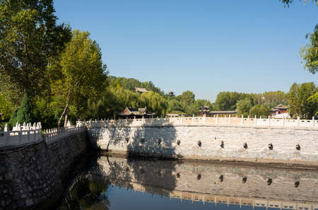 China, Shanxi Province, Jinzhong City, Shouyang County, Qiliao Hometown Scenic Spot