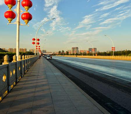 Zilong Bridge, Zhengding County, Shijiazhuang City, Hebei Province, China Sajtókép