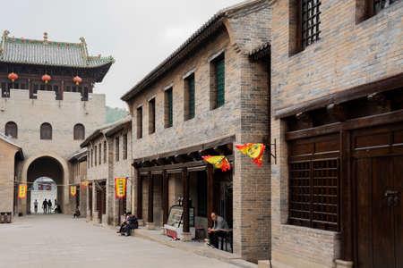 China, Shanxi Province, Jincheng City, Yangcheng County, Guoyu Ancient City, Jingyangmen Sajtókép
