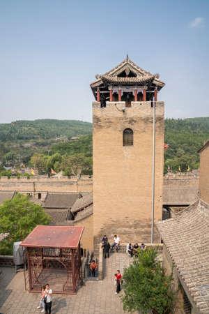 China, Shanxi Province, Jincheng City, Yangcheng County, Huangcheng Xiangfu Tourist Area, Heshan Tower Sajtókép