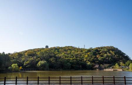 Caishiji Scenic Area, Ma'anshan City, Anhui Province