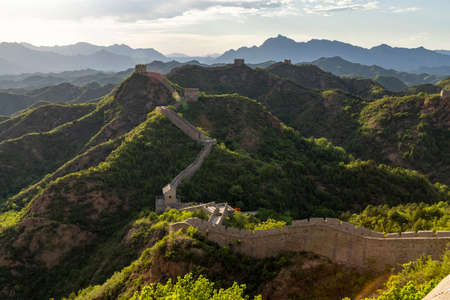 Jinshanling Great Wall Scenic Area, Luanping County, Chengde City, Hebei Province, China
