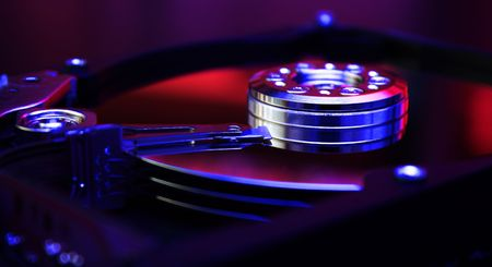 Detail of HDD Stock Photo - 3958582