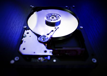 Detail of HDD