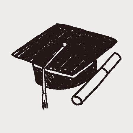 graduacion de universidad: Tapa Doodle Licenciatura