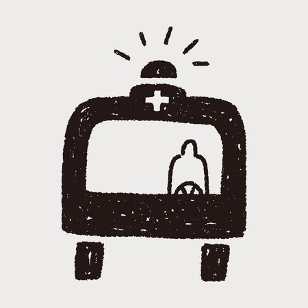 ambulancia: ambulancia garabato