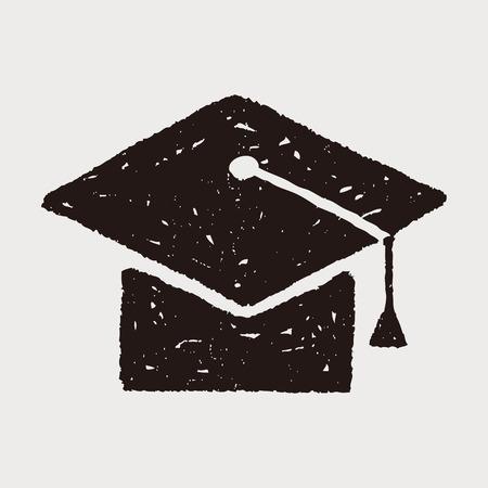 graduation hat: doodle graduation hat
