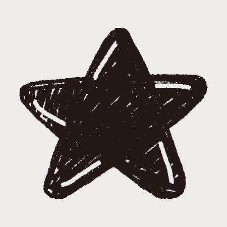 doodle: Doodle Star Illustration